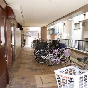 トーア第2亀戸マンションの駐輪場