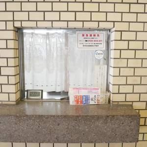 トーア第2亀戸マンションの共用ロビー
