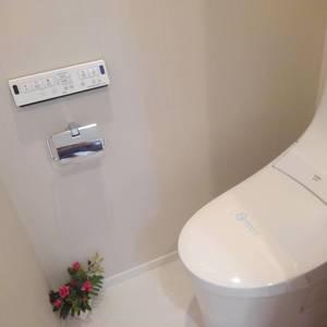 ライオンズマンション下落合(1階,)のトイレ