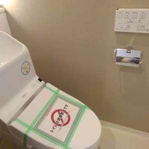 ダイアパレス上落合(2階,)のトイレ