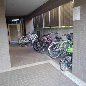 パークウェル落合の駐輪場