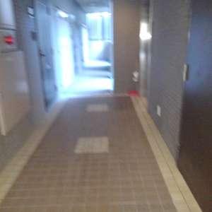 パークウェル落合(4階,4399万円)のフロア廊下(エレベーター降りてからお部屋まで)