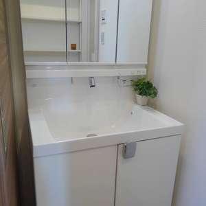 パークウェル落合(4階,4399万円)の化粧室・脱衣所・洗面室