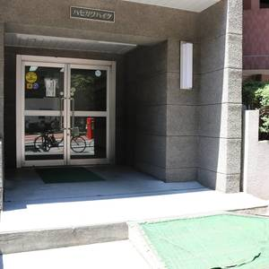 ハセガワハイツのマンションの入口・エントランス