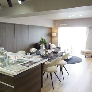 中野スカイハイツ(6階,)の居間(リビング・ダイニング・キッチン)