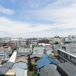 中野スカイハイツ(6階,)のお部屋からの眺望