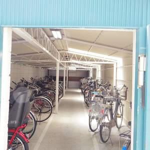 中野スカイハイツの駐輪場