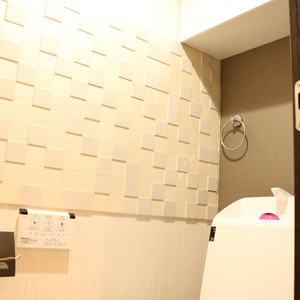 三井音羽ハイツ(9階,)のトイレ