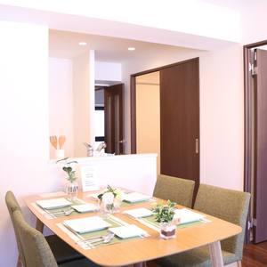 三井音羽ハイツ(8階,4690万円)の居間(リビング・ダイニング・キッチン)