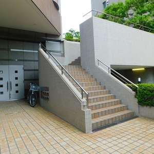 西早稲田シティタワーの駐輪場