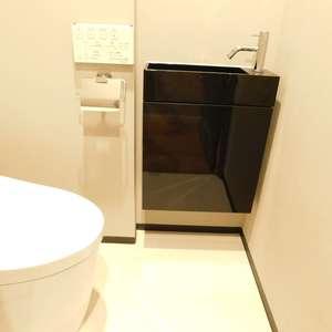 西早稲田シティタワー(14階,5980万円)のトイレ