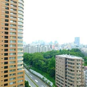 西早稲田シティタワー(14階,5980万円)のお部屋からの眺望