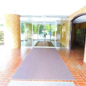 パシフィック西早稲田のマンションの入口・エントランス