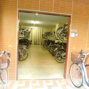 池袋パークタワーの駐輪場
