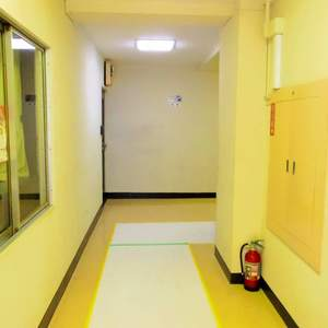 マンション沼袋(3階,)のフロア廊下(エレベーター降りてからお部屋まで)