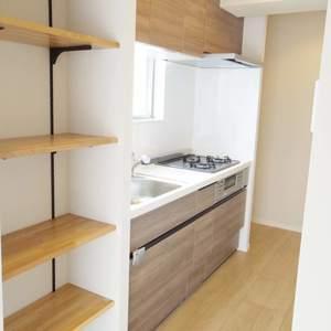 マンション沼袋(3階,)のキッチン