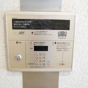 ライオンズマンション日本橋浜町第2のマンションの入口・エントランス