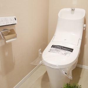 ライオンズマンション日本橋浜町第2(9階,5480万円)のトイレ