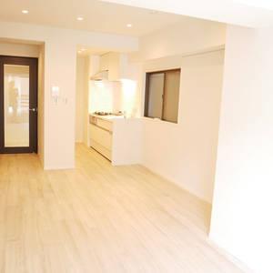 浜町サンフラワーマンション(4階,)の居間(リビング・ダイニング・キッチン)