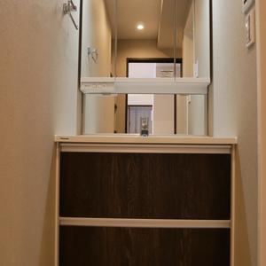 浜町サンフラワーマンション(4階,)の化粧室・脱衣所・洗面室