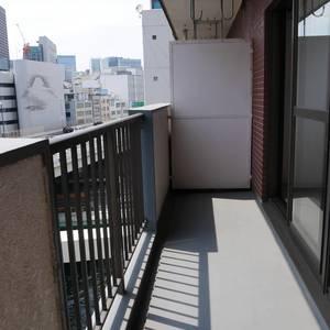 日本橋小網町ハイツ(8階,)のバルコニー