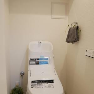 安田小網町マンション(2階,)のトイレ