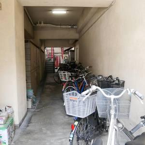 パレドール日本橋の駐輪場