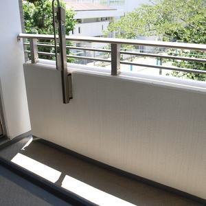 グランディ市谷柳町(4階,)のバルコニー