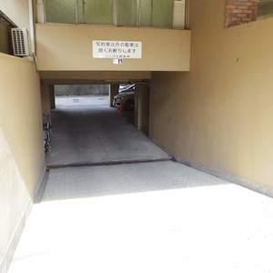 中野ハイネスコーポの駐車場