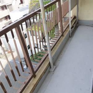 中野ハイネスコーポ(7階,2999万円)のバルコニー