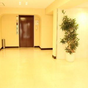 牛込ハイマンションのマンションの入口・エントランス