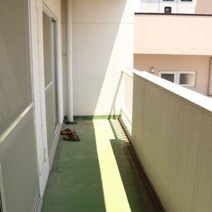 牛込ハイマンション(11階,)のバルコニー