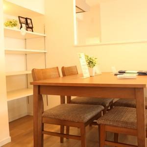 牛込ハイマンション(11階,)の居間(リビング・ダイニング・キッチン)