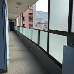 セザール第2中野(7階,)のフロア廊下(エレベーター降りてからお部屋まで)