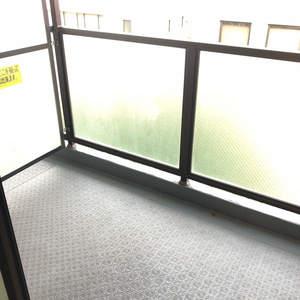 セザール第2中野(7階,)のバルコニー