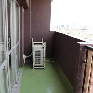 牛込ハイム(14階,)のバルコニー