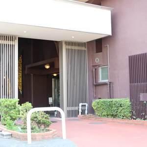 牛込ハイムのマンションの入口・エントランス