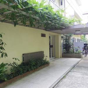 中野松が丘ホワイトマンションのマンションの入口・エントランス