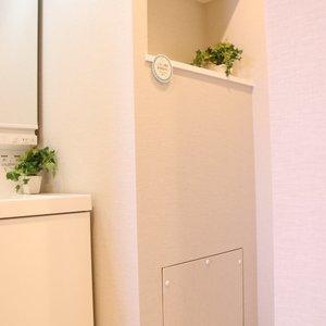 牛込ハイム(14階,)の化粧室・脱衣所・洗面室