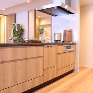 シティハイツ根津(2階,)のキッチン