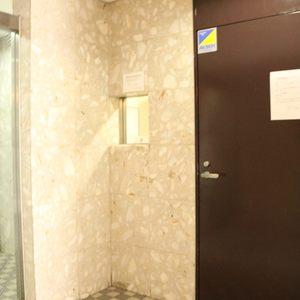 グランドメゾン千駄木のエレベーターホール、エレベーター内