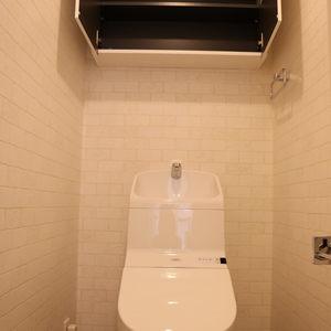 グランドメゾン千駄木(5階,)のトイレ