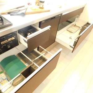 ストーク大山(14階,)のキッチン