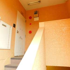大山コーポサンキョー(4階,2488万円)のフロア廊下(エレベーター降りてからお部屋まで)