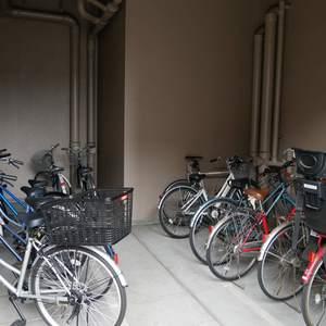 ダイアパレス元浅草ブライトスクエアの駐輪場