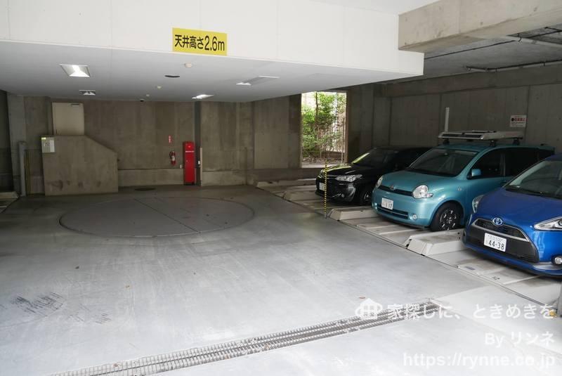 プリムローズ浅草ウエストの駐車場1枚目
