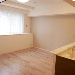 プリムローズ浅草ウエスト(3階,5480万円)の居間(リビング・ダイニング・キッチン)