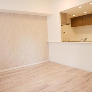 プリムローズ浅草ウエスト(3階,5780万円)の居間(リビング・ダイニング・キッチン)