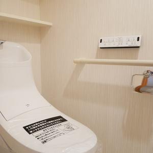 日神デュオステージ浅草松が谷(8階,)のトイレ