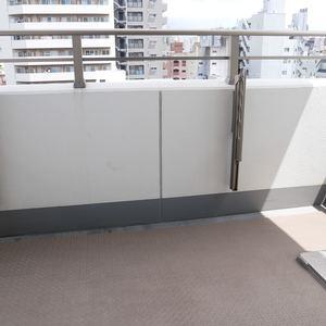 日神デュオステージ浅草松が谷(8階,)のバルコニー